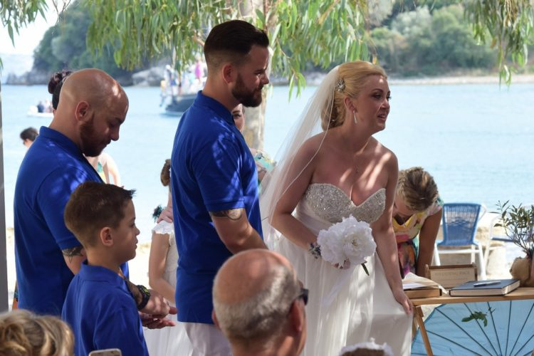 Corfu wedding ceremony